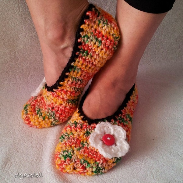 Crochet Slippers 1