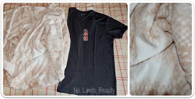 Compras Primark Enero 2016 - Manta y camiseta MC