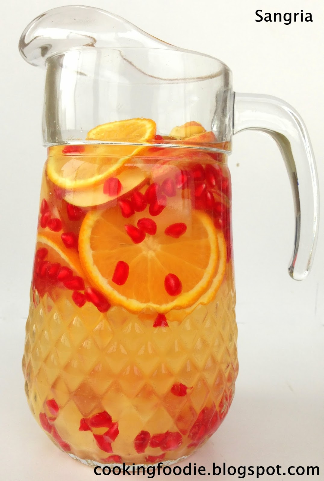 365 days of Eating: Non-alcoholic Sangria