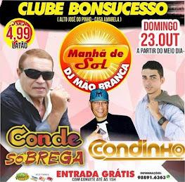 CLUBE BONSUCESSO - MANHÃ DE SOL DO DJ MÃO BRANCA