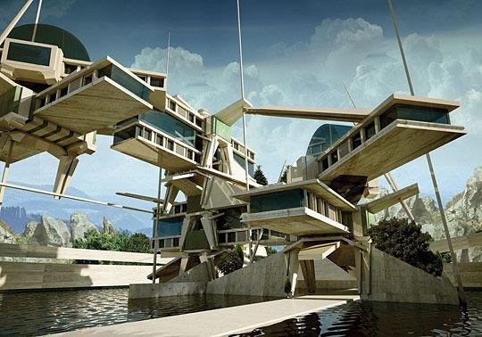 16 Futuristic Concept Architecture Designs Futuristic