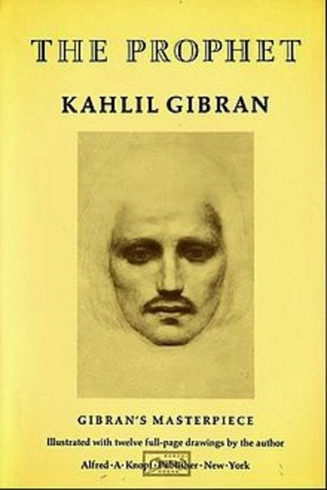 Christmas Reading list The Prophet by Kahlil Gibran