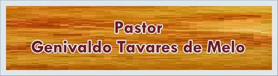 Pr. Genivaldo Tavares de Melo