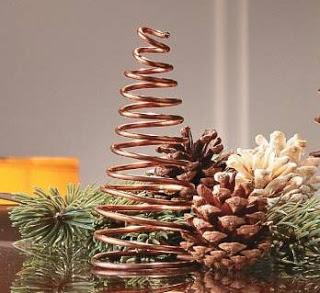 Varias Ideas Para Saber Como Hacer Un Arbol De Navidad Casero Y - Arbol-de-navidad-artesanal