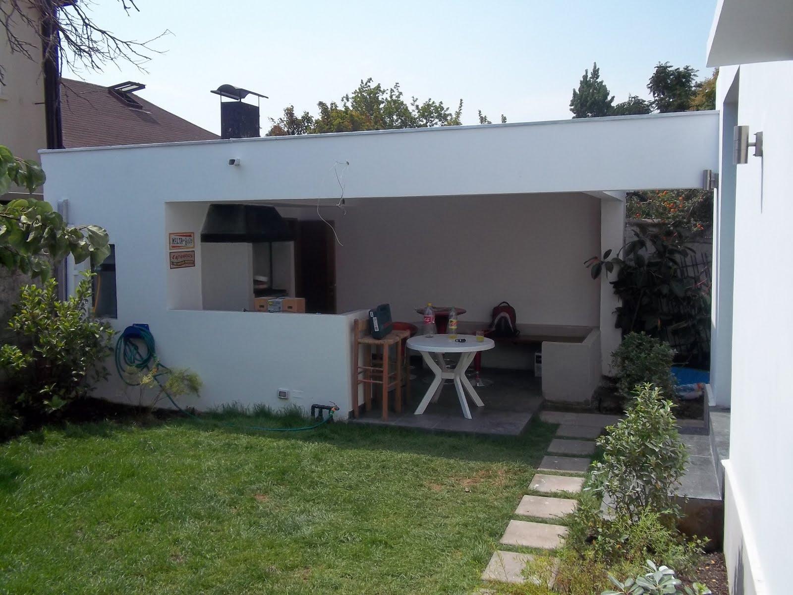Remodelaci n quincho y jard n familia aranguiz las for Remodelacion de jardines