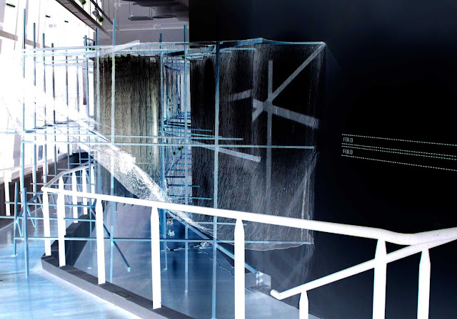 London based Malaysian artist Rajinder Singh's installations