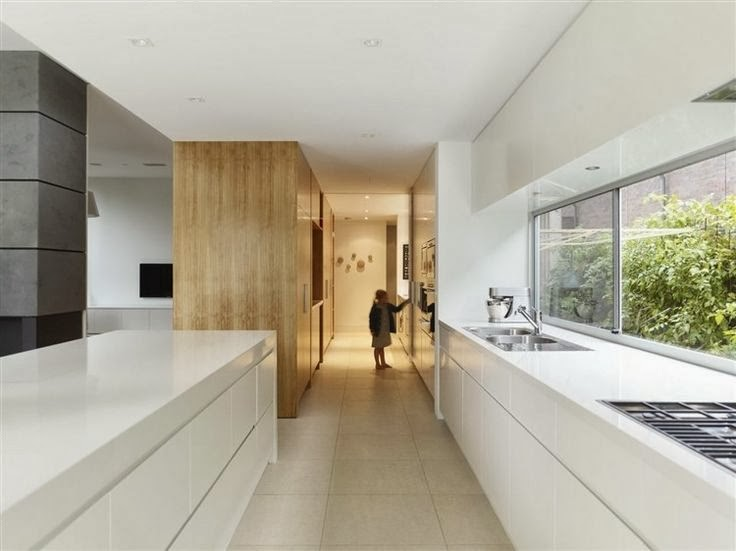 Kitchen Area with Natural Light