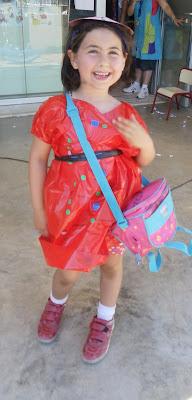 disfraz casero, china