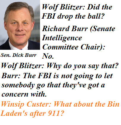 Dick Burr Prickless Under The FBI Saddle