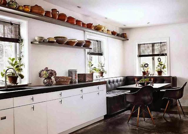 Skandynawski design przestronnej kuchni