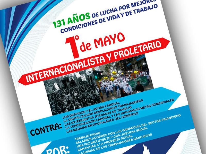 1ro de Mayo 2017 Internacionalista y Proletariado