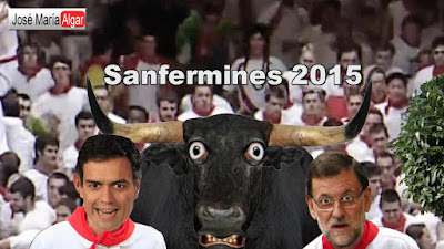 Sanfermines 2015. Los dos peores toros. 13