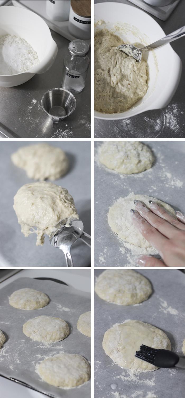 Maailman helpoimmat sämpylät / World's easiest bread rolls
