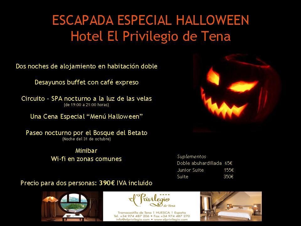 Escapada halloween en el hotel el privilegio de tena - Hotel privilegio de tena ...