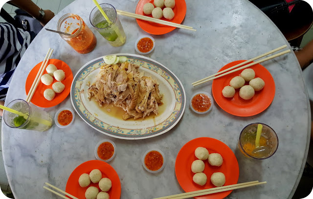 Chicken Rice Ball Ayam Hainan