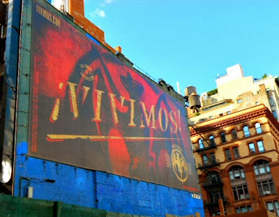 Graffiti Vivimos New York