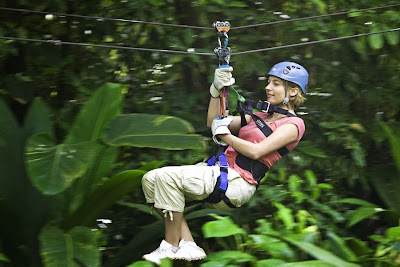 Canopy Zip Line at Rainforest Adventures
