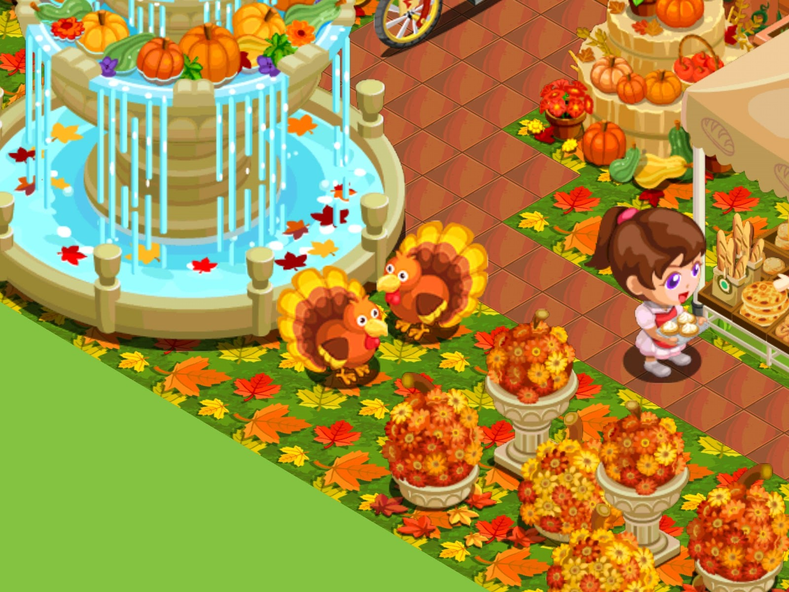 Restaurant story adventures game update 18 11 15 for Bakery story decoration ideas
