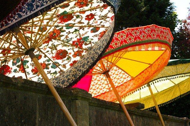 Khu vườn dưới tán ô