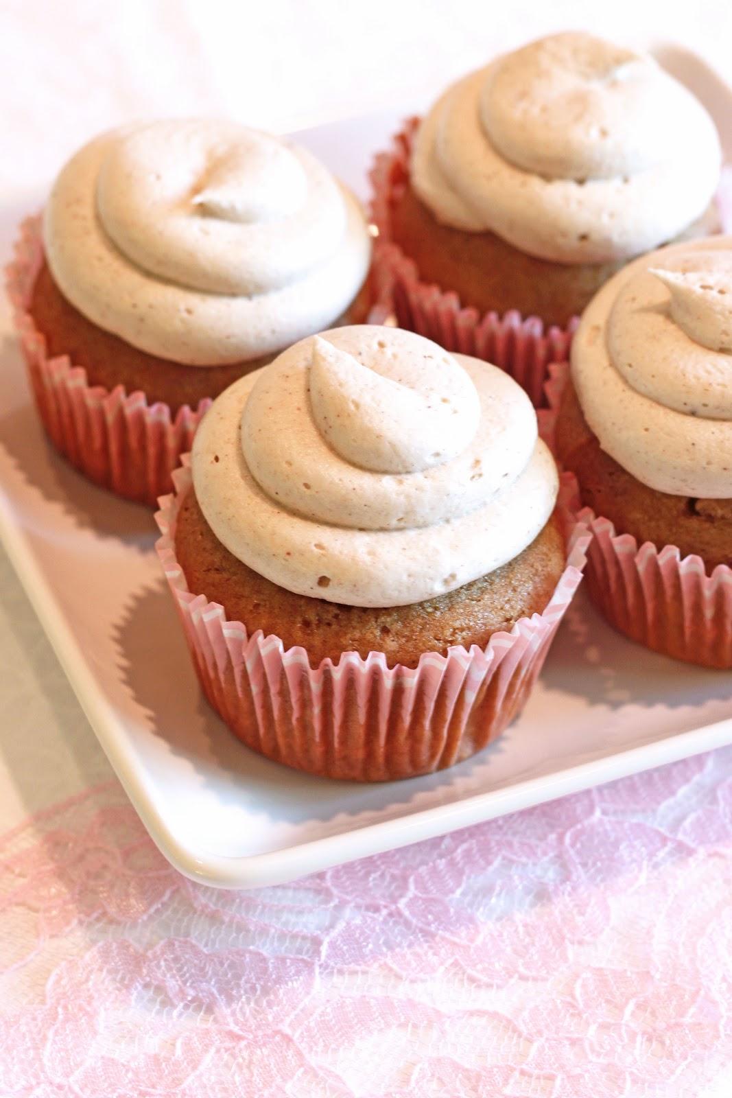 gluten free chai latte cupcakes - Sarah Bakes Gluten Free