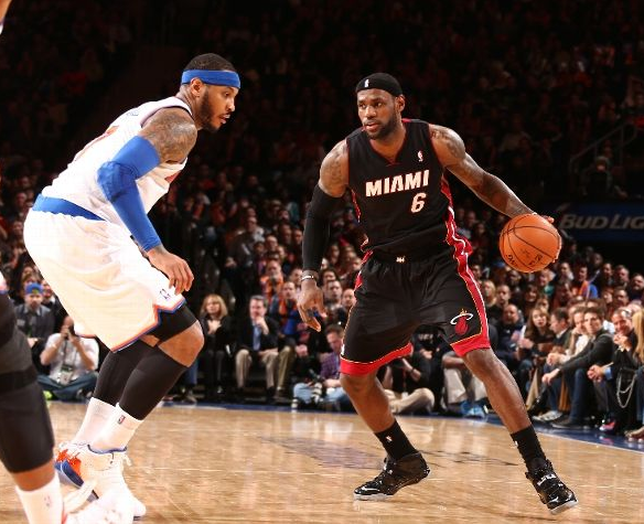 miami heat le gano 106 91 a los new york knicks lebron james 30 puntos