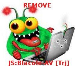 entfernen JS: Blacole-AV [Trj]