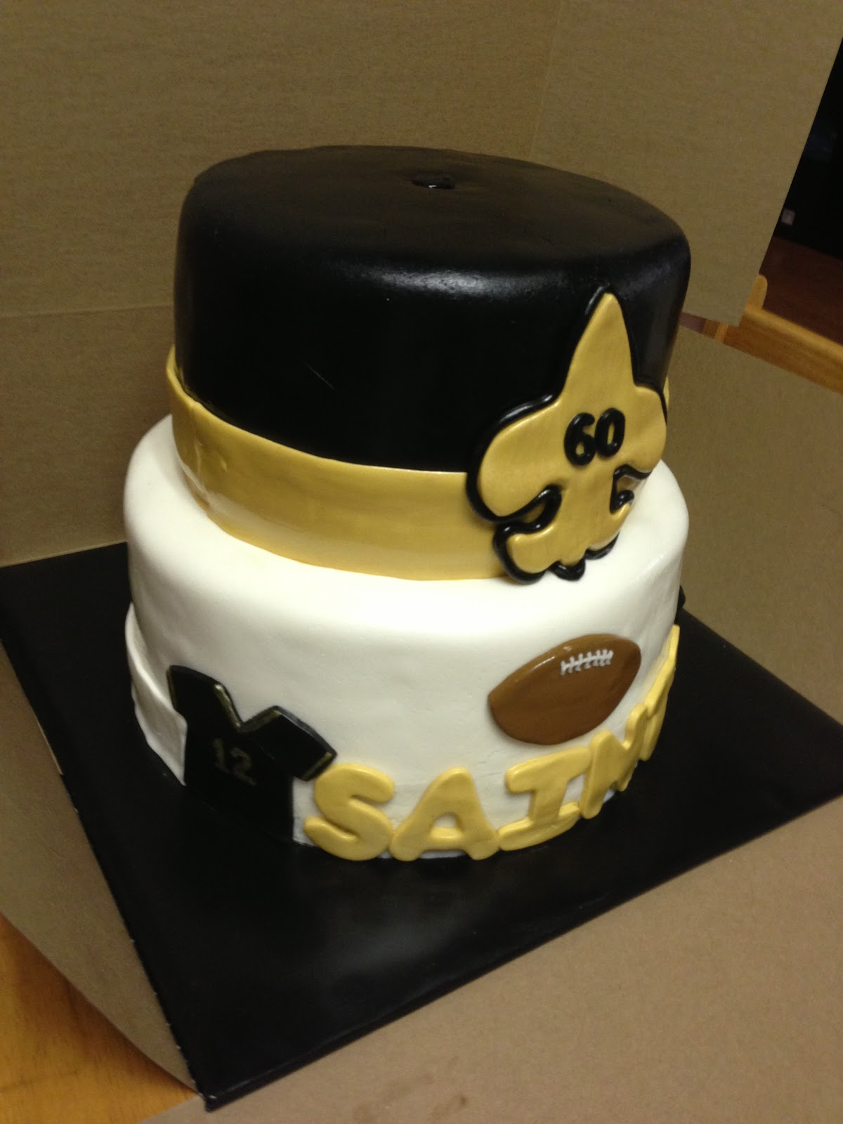 Cakes By Mindy New Orleans Saints Cake 8 10
