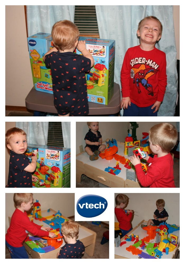vtech go go smart wheels train station playset instructions