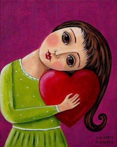"""""""Coge tu corazón roto y conviértelo en arte""""."""