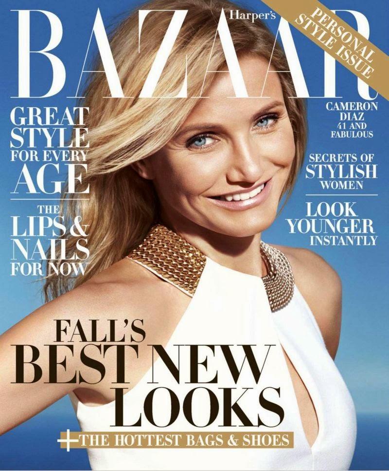 Cameron Diaz - Harper's Bazaar Magazine, US, August 2014