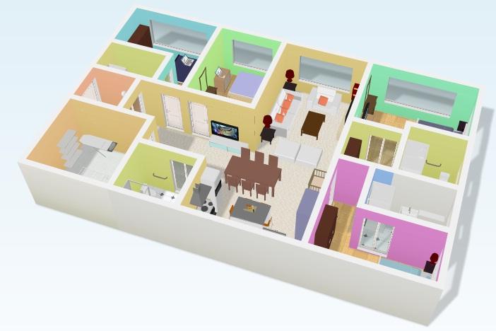 Perenqueando crear planos de formas online y gratis for Crear habitacion 3d online