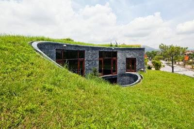 12 Inspirasi Rumah Dengan Green Roof 3