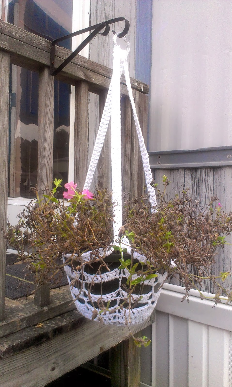Mama Sweettaters: A New Crochet Plant Hanger