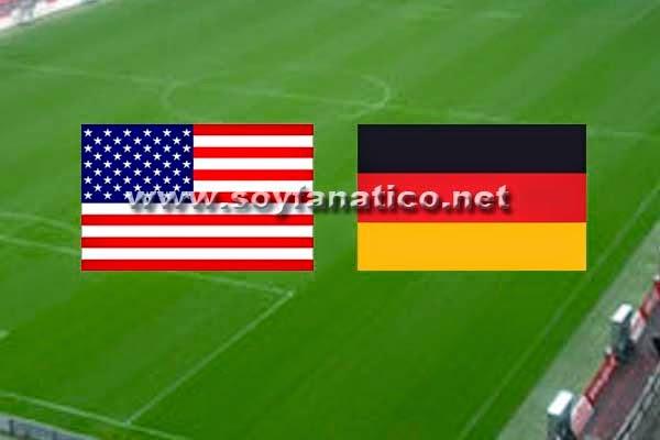 Estados Unidos vs ALemania Mundial de Futbol 2014