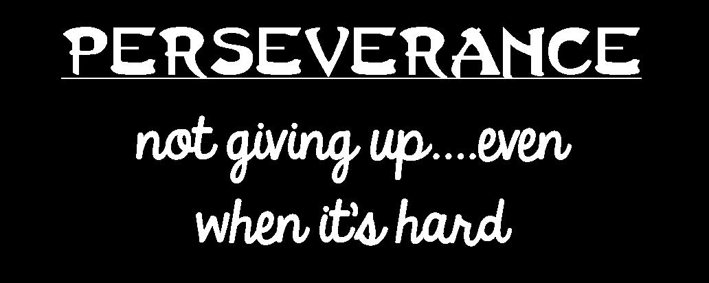 October Family Focus: Perseverance | Gypsy MagpieGypsy Magpie