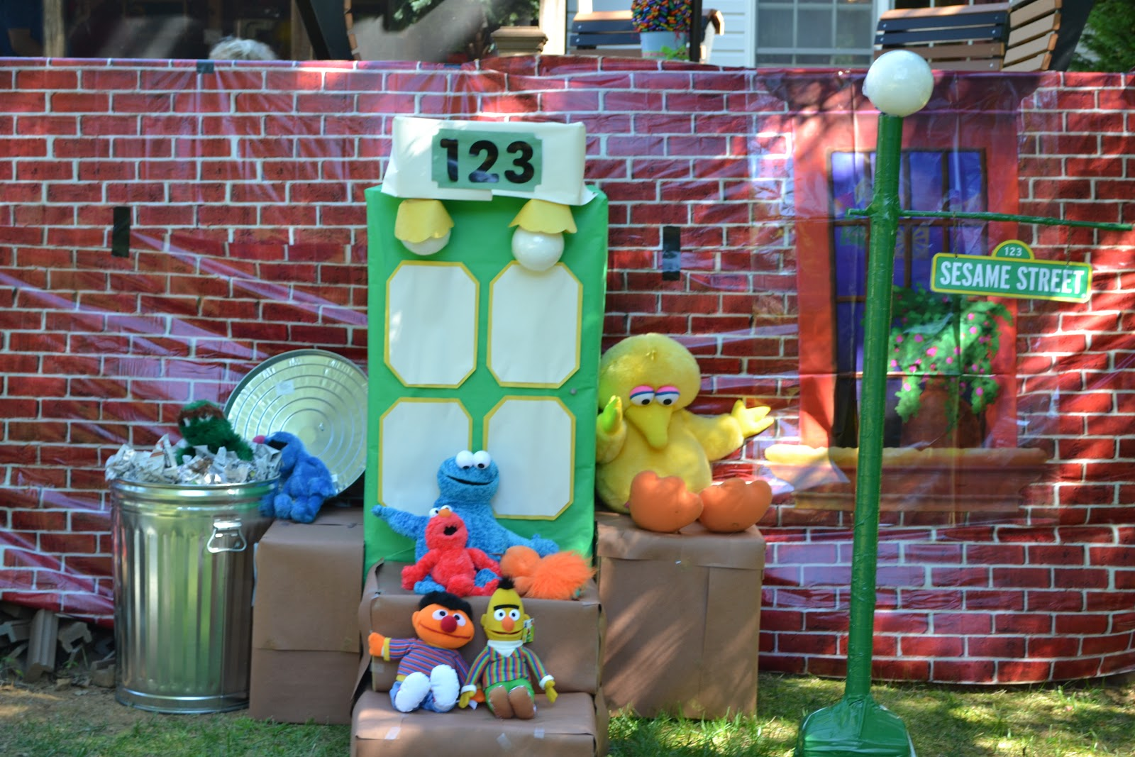 Purple Tailgating Mama Sesame Street 1st Birthday Party For My Lil Guy