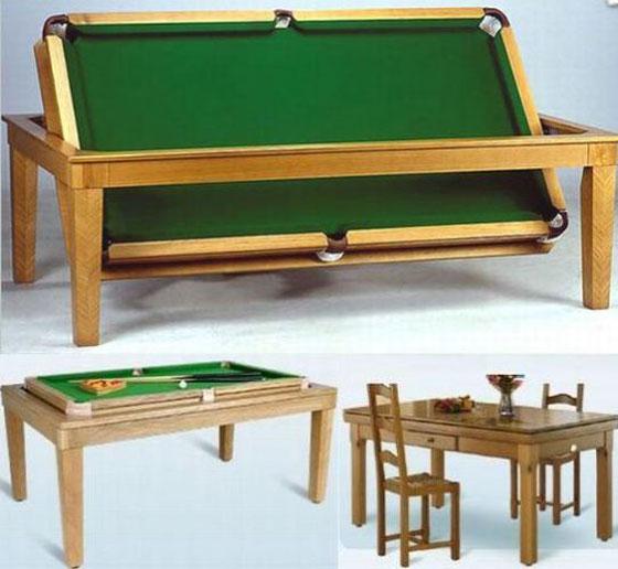 Rose wood furniture billiard dining table - Pool dining ...