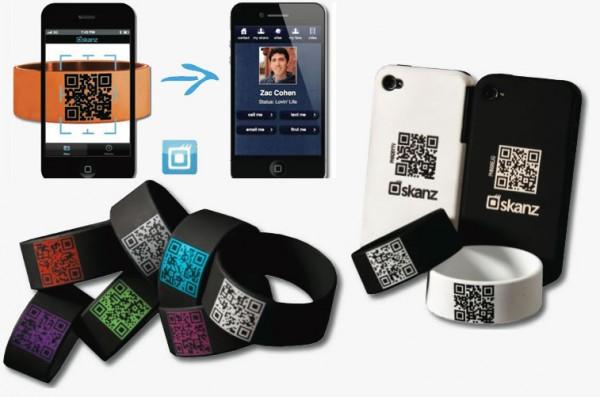 creer flashcode ou qr code skanz remplace la carte de visite par un flashcode. Black Bedroom Furniture Sets. Home Design Ideas