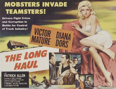Porstyer, Cartel, Carátula, Cover: El precio de un hombre | 1957 | The Long Haul