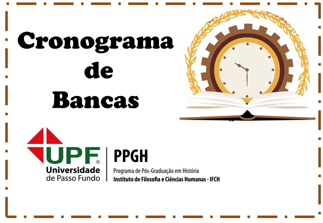 Cronograma de Bancas PPGH