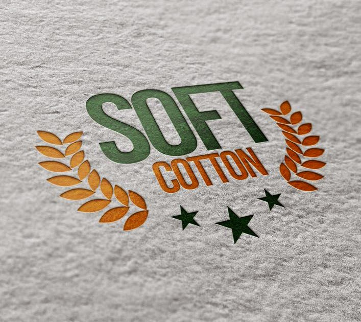 Soft Cotton - Logo mock up - Pusat Desain Grafis
