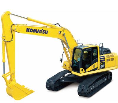 Komatsu Excavators PC240LC-10