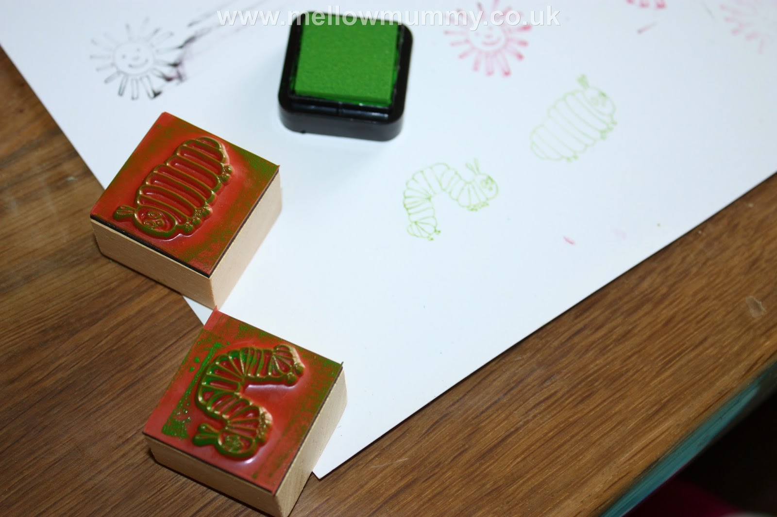 Very Hungry Caterpillar Rubber Stamps