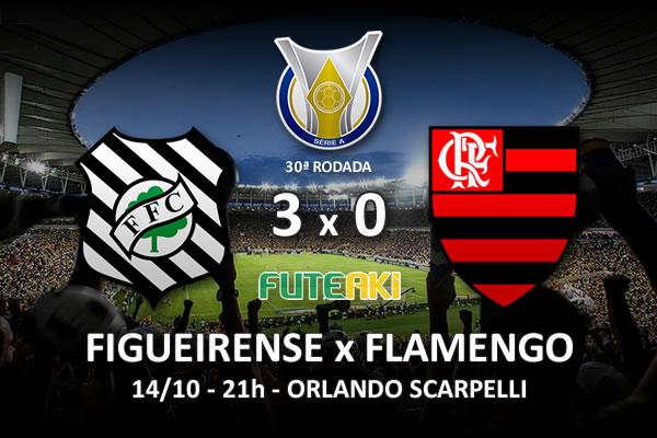 Veja o resumo da partida com os gols e os melhores momentos de Figueirense 3x0 Flamengo pela 30ª rodada do Brasileirão 2015.