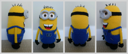 Free Crochet Pattern For Bob The Minion : Romy ?bersetzts - Handarbeit auf deutsch