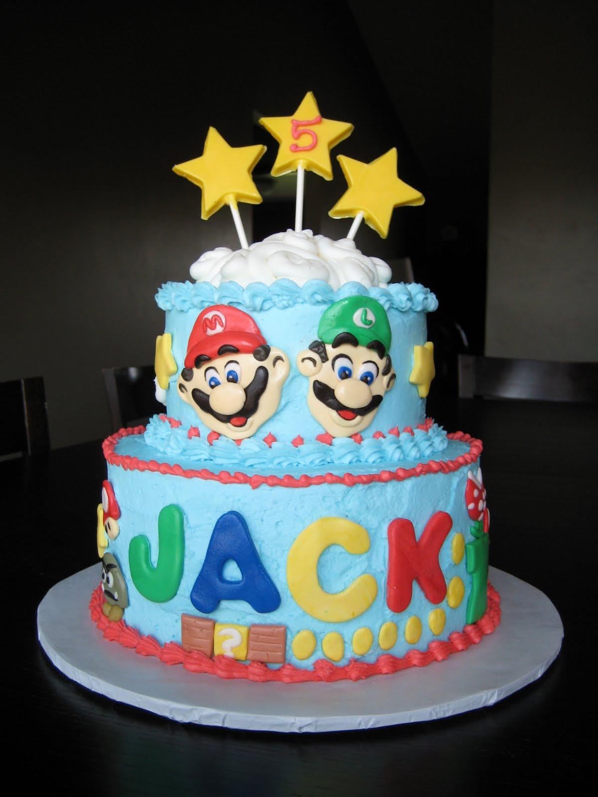 Mario Brothers Cakes Vero Beach Florida