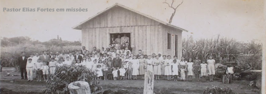 Pastor Elias Fortes em missões
