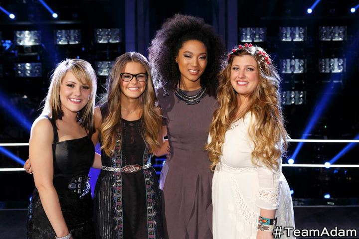 Amber Carrington, Caroline Glaser, Judith Hill and Sarah Simmons for Team Adam