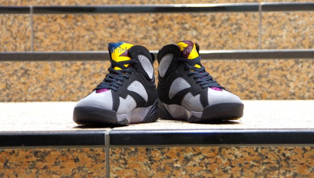 Dj lucky c the youngest in charge sneakers of the week for Retro 7s bordeaux