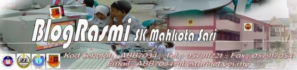 Blog Rasmi SK Mahkota Sari